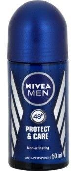 Nivea Men Protect & Care antyperspirant roll-on dla mężczyzn 50 ml