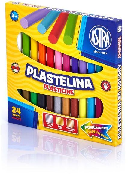 Plastelina Astra 24 kolory -  Rabaty  Porady  Hurt  Autoryzowana dystrybucja  Szybka dostawa