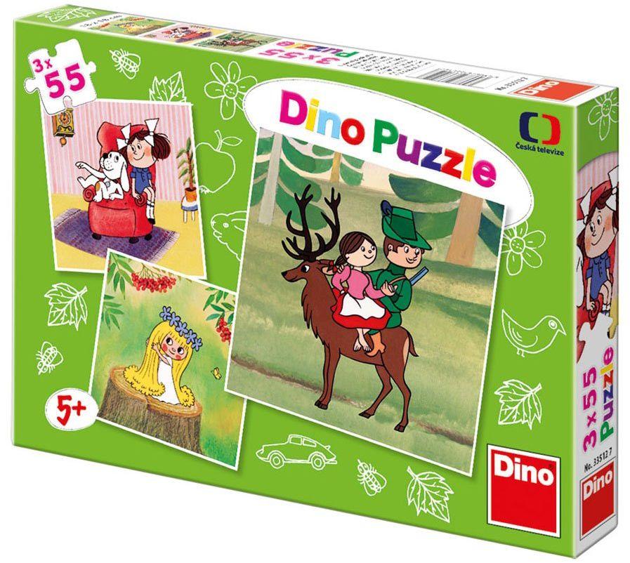 Dinotoys Dino Toys335127 układanki puzzle