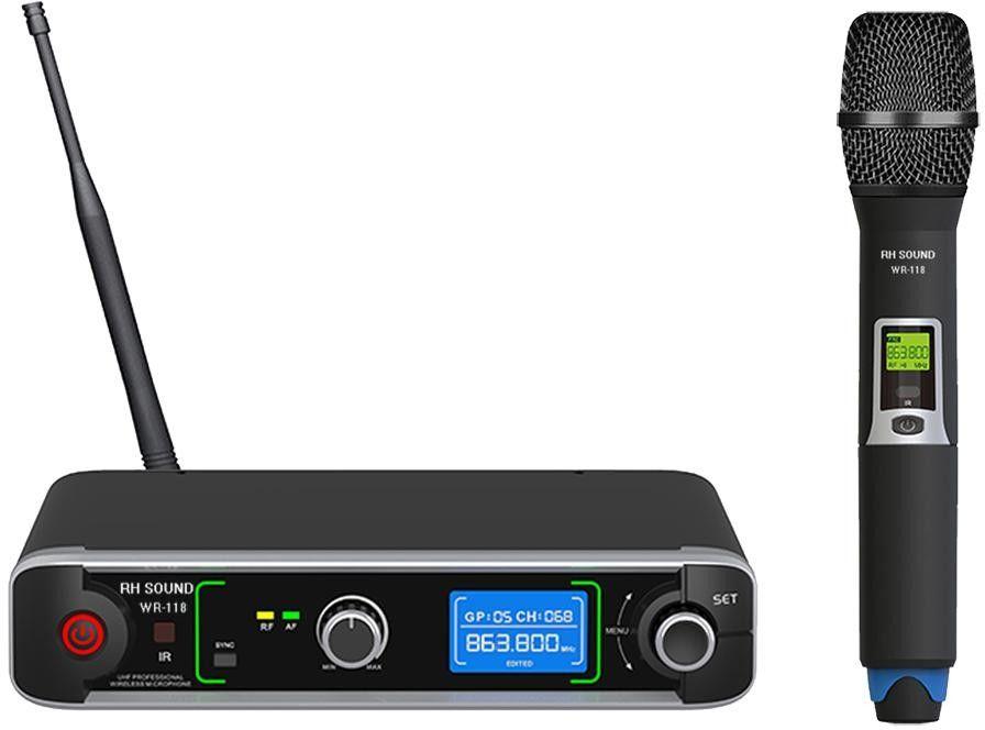 RH Sound WR-118 - Mikrofon bezprzewodowy doręczny