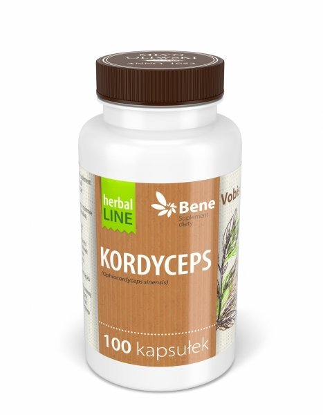 Bene Vobis - Kordyceps - 100 kapsułek