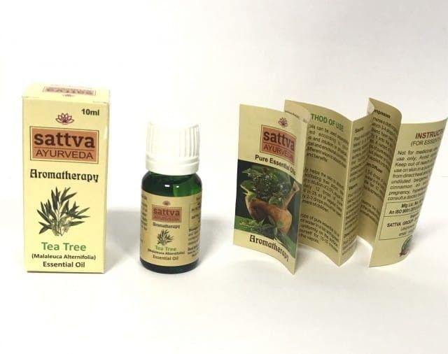 Drzewo Herbaciane Olejek Eteryczny Indie Sattva 10ml