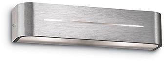 Kinkiet Posta AP2 009940 Ideal Lux aluminiowa oprawa w stylu design