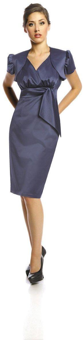 Sukienka FSU189 CHABROWY CIEMNY