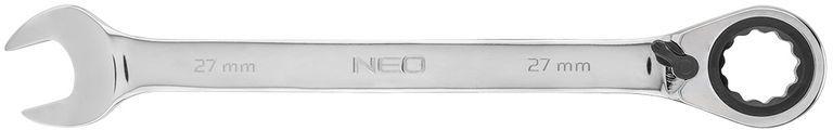 Klucz płasko-oczkowy z grzechotką i przełącznikiem 27mm 09-339