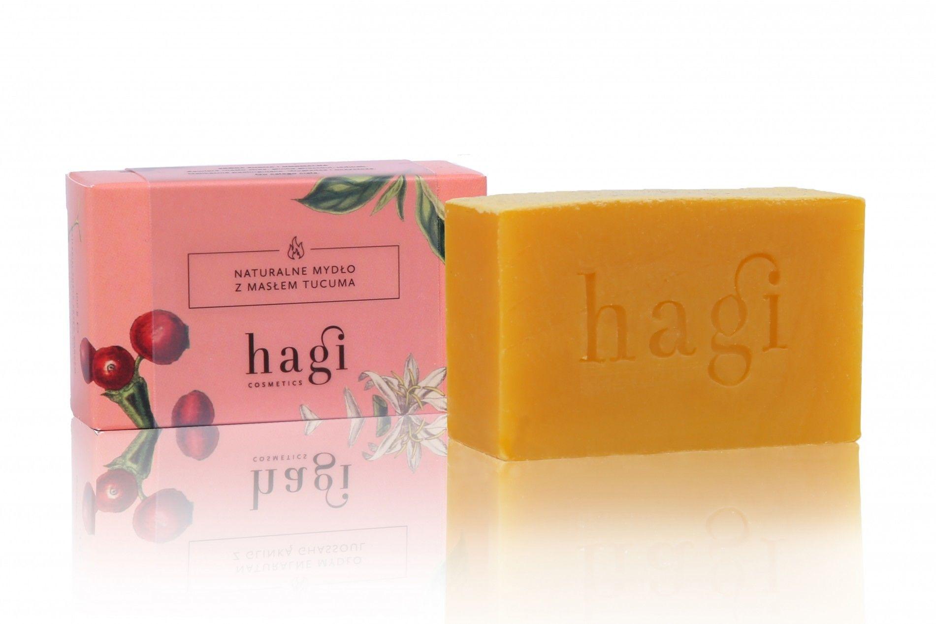 Naturalne mydło z masłem tucuma 100g HAGI
