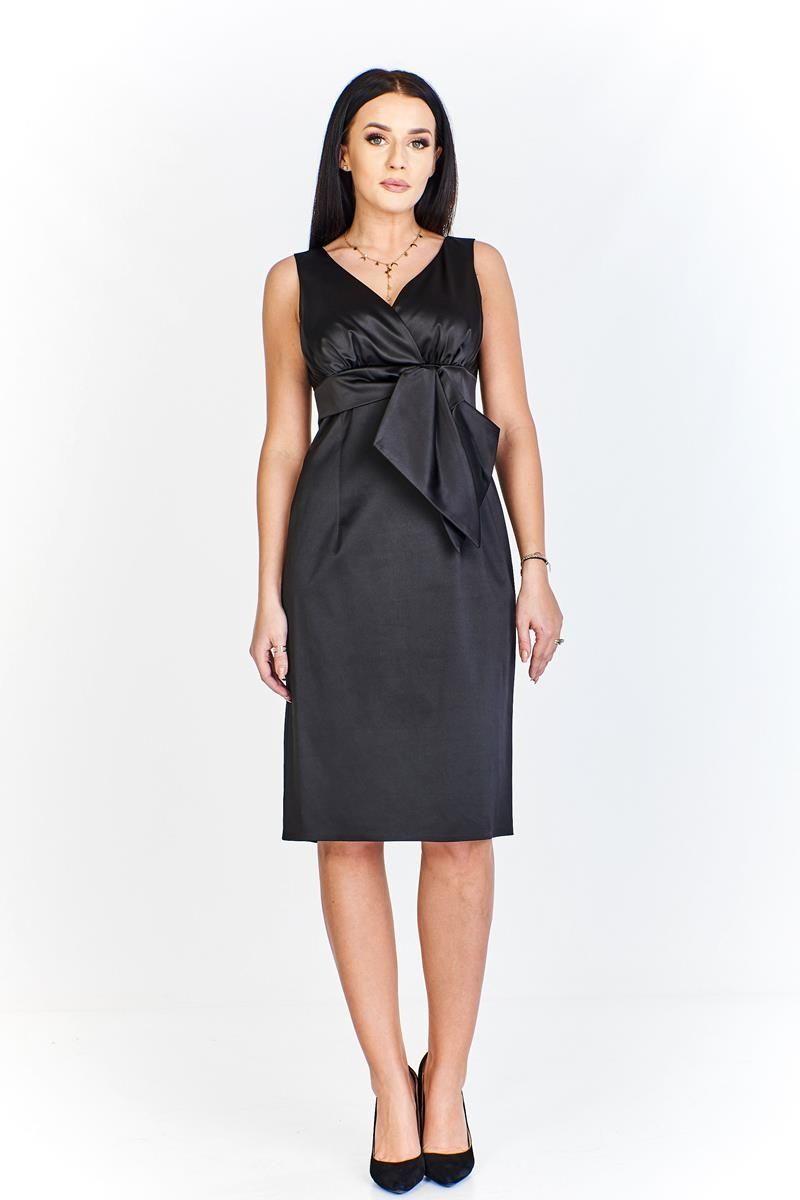 Sukienki Sukienka Suknie FSU189 CZARNY