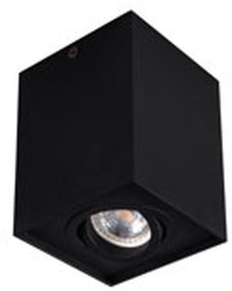 Oprawa punktowa sufitowa LED 25W GU10 GORD DLP 50-B czarna 25471