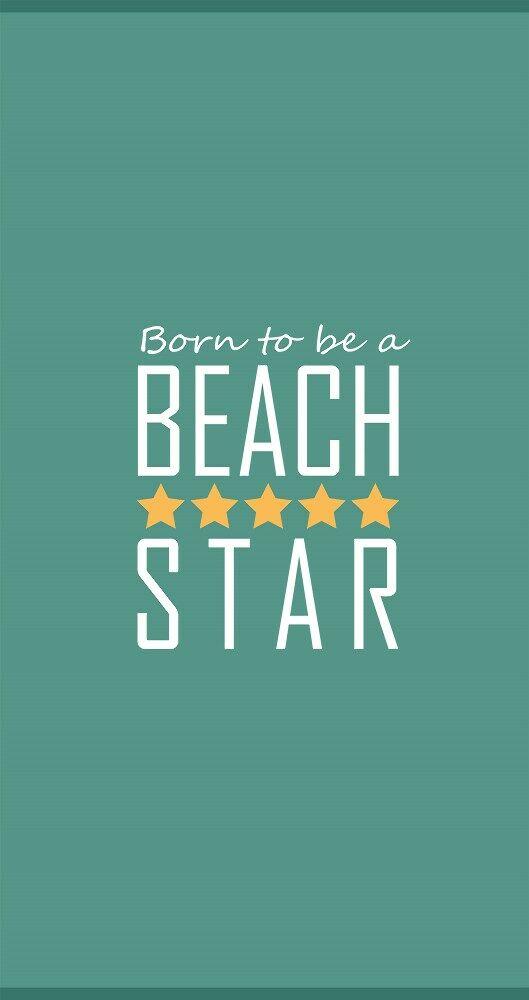 Ręcznik plażowy 90x170 Beach Star turkusowy morski ZV-7789R welurowy 380g/m2 Clarysse