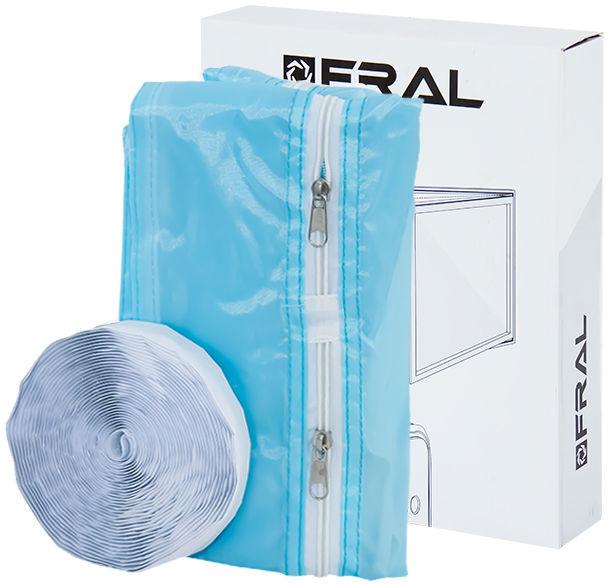 Uszczelka okienna do klimatyzatorów (4 zippy) - niebieska