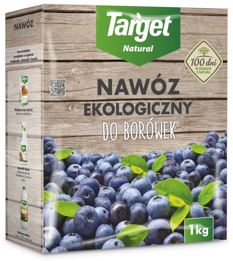 Nawóz do borówek EKOLOGICZNY 1 kg TARGET NATURAL