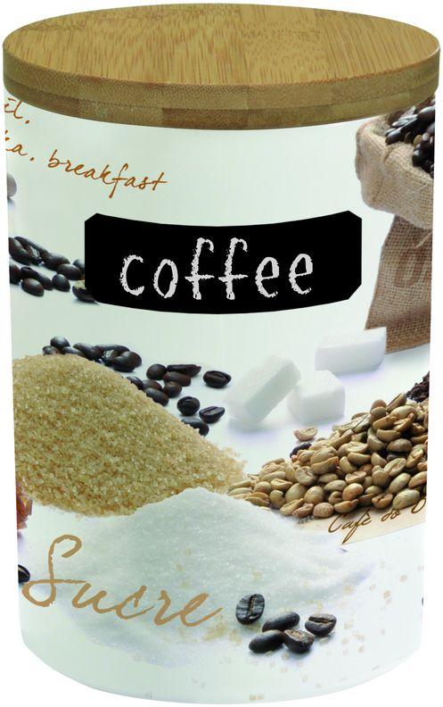 PORCELANOWY POJEMNIK NA KAWĘ 1 kg - Coffee - R2S Mediterraneo (752 MOKA)