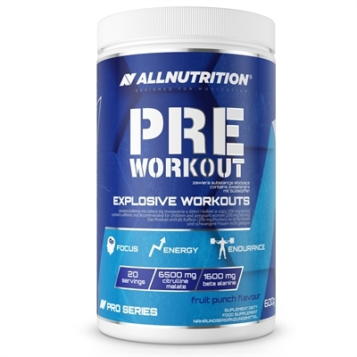 Pre Workout Pro Series 600g