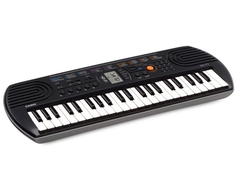 CASIO SA-77 szary - keyboard Gwarancja 5 lat + instrukcja PL