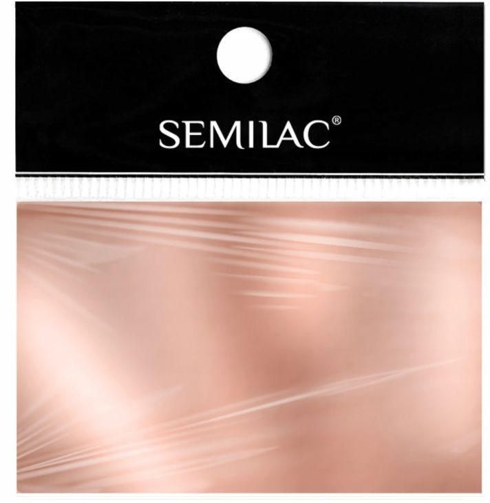 SEMILAC Folia transferowa 03 Rose Gold różowe złoto