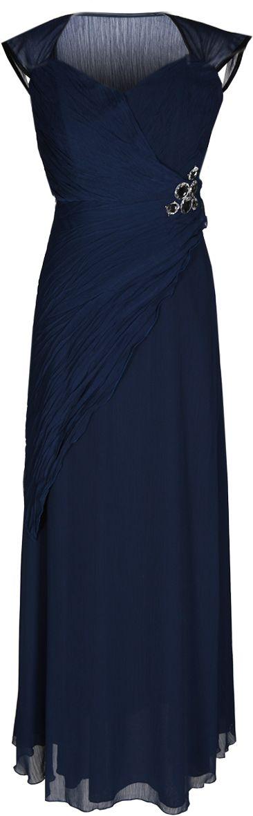 Sukienka FSU167 GRANATOWY