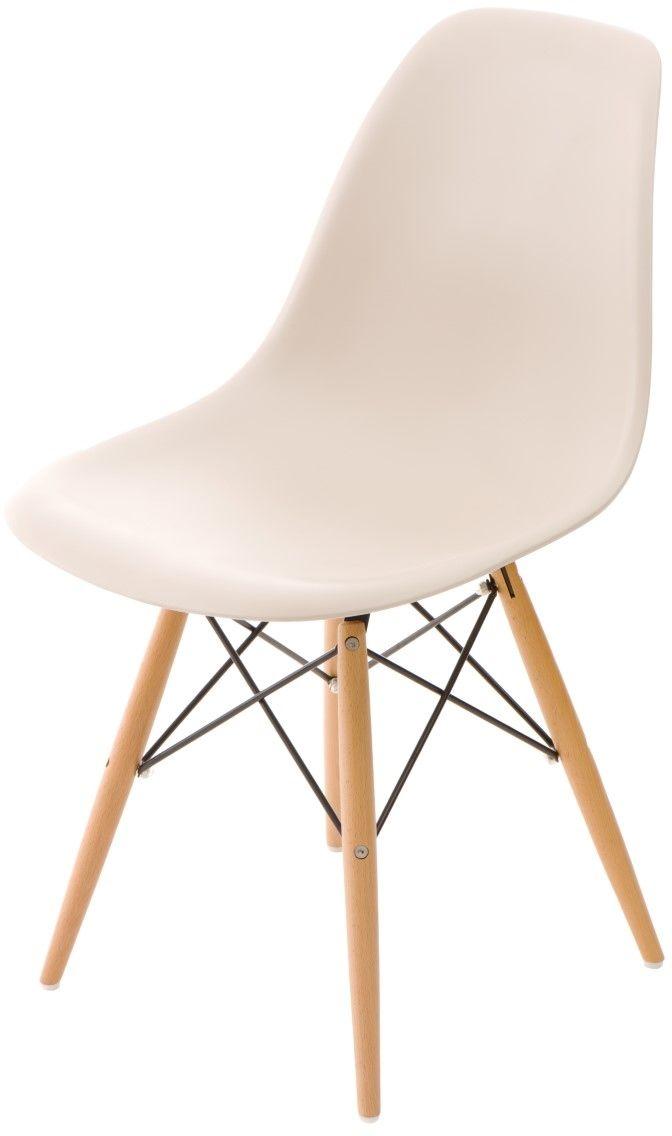 D2 Krzesło P016W patch work, drewniane nogi