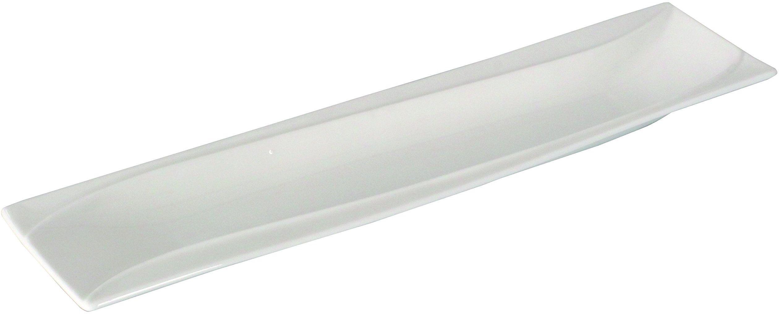 Dajar miska relief Salsa 31 x 7,7 cm AMBITION, porcelana, biała, 7 x 2,3 cm
