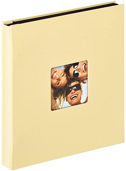 Walther design EA-110-H zabawny album do wkładania, na 400 zdjęć w formacie 10 x 15 cm, kremowy