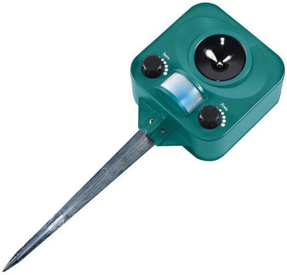 Odstraszacz ultradźwiękowy z sensorem ruchu Greenmill GR5108