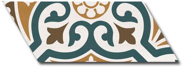 Chevron Patchwork Color Right 20,5x9