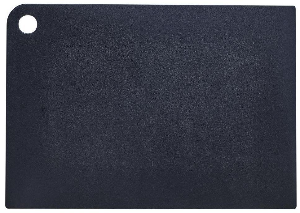 Deska do krojenia duża czarna Plast Team