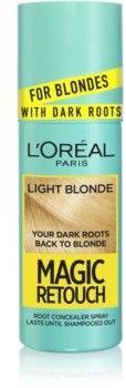 LOréal Paris Magic Retouch błyskawiczny retusz włosów w sprayu odcień Light Blonde 75 ml