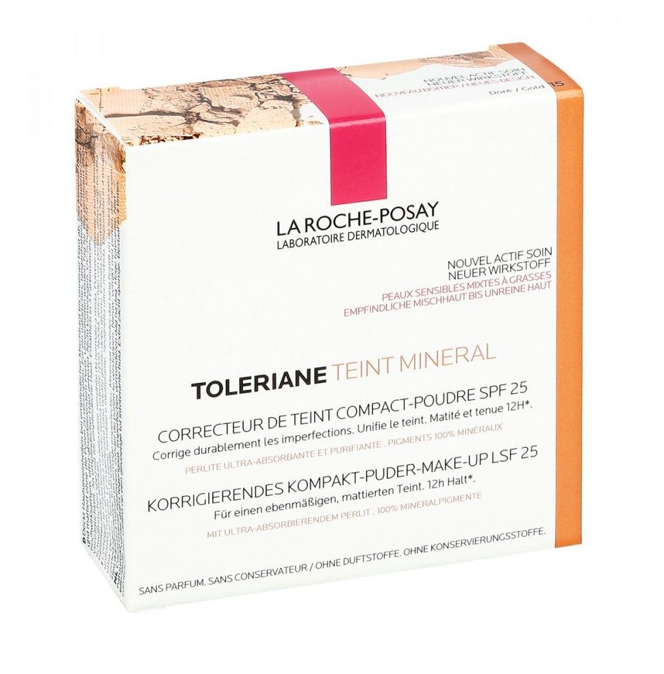 La Roche Posay Toleriane Teint 15 puder mineralny w kompakcie j