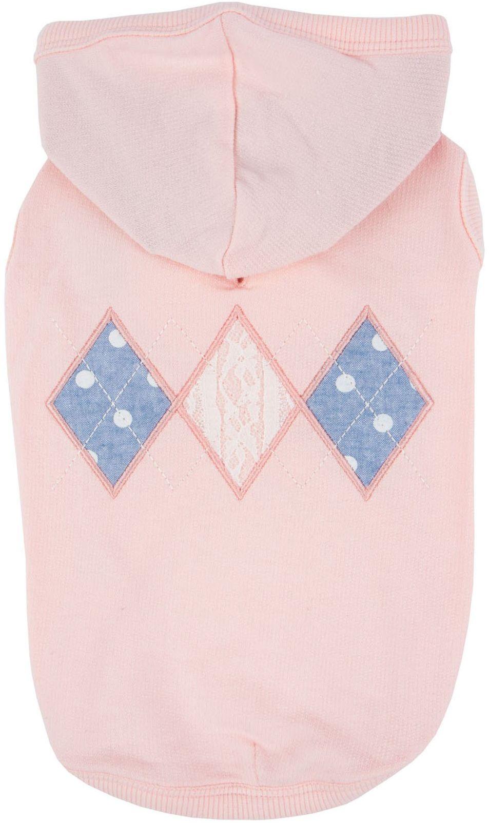 Pinkaholic New York NARA-TS7309-IP-M indyjskie różowe łapacze bluzy dla zwierząt domowych, średnie