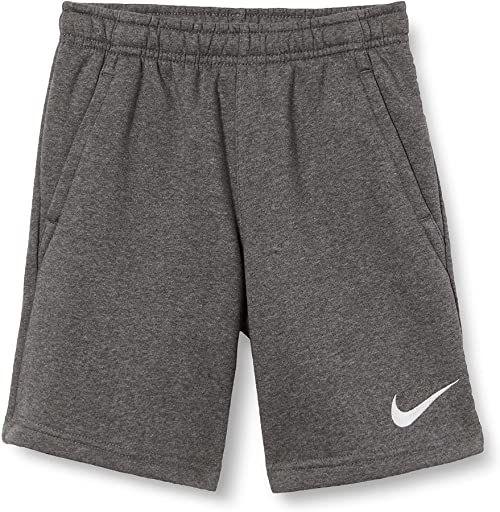 Nike Spodnie dresowe dla chłopców Park 20 Wrzosowy węgiel, biały/biały L
