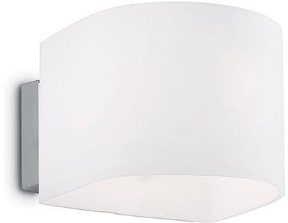 Kinkiet Puzzle AP1 035185 Ideal Lux klasyczna oprawa w kolorze białym