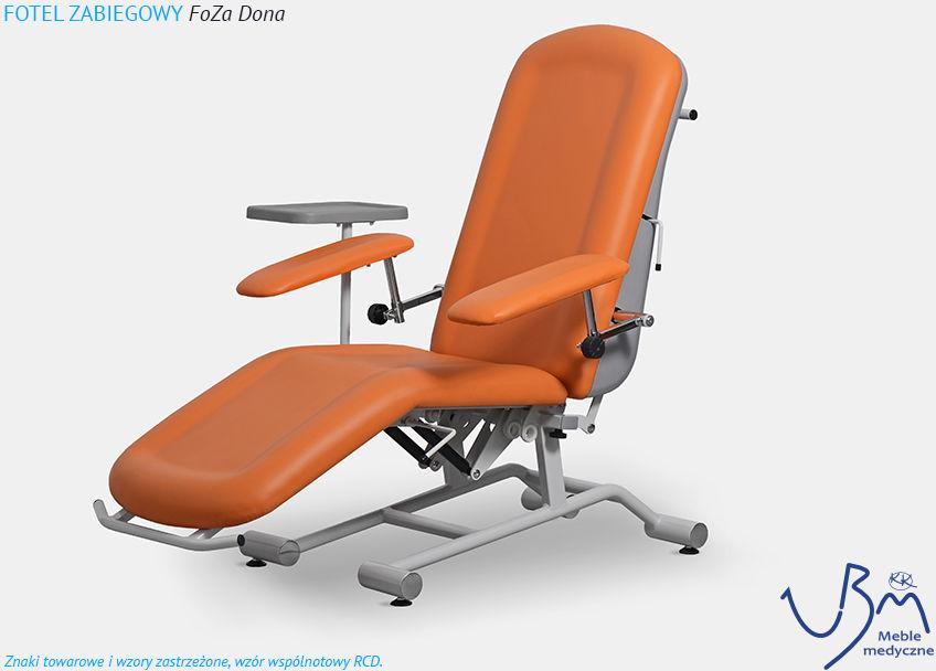 Fotel zabiegowy FoZa Dona