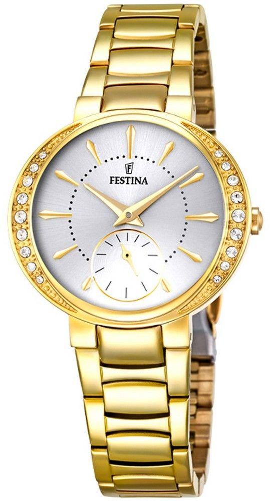 Zegarek Festina F16910-1 Mademoiselle - CENA DO NEGOCJACJI - DOSTAWA DHL GRATIS, KUPUJ BEZ RYZYKA - 100 dni na zwrot, możliwość wygrawerowania dowolnego tekstu.