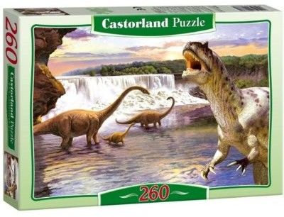 Puzzle Castor 260 - Dinozaury Diplodocus