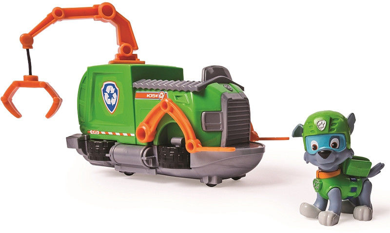 Psi Patrol - Pojazd z figurką Rocky 20084881