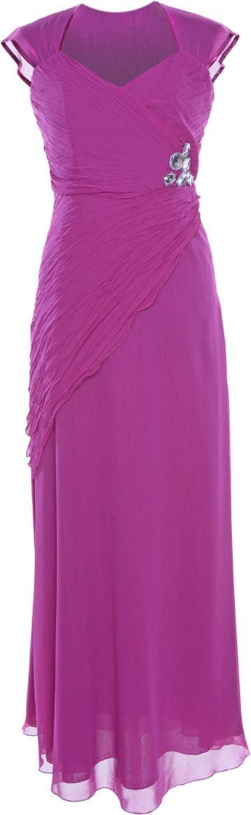 Sukienka FSU167 AMARANTOWY