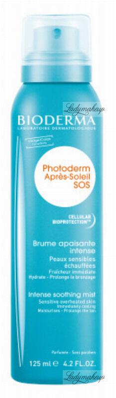 BIODERMA - Photoderm Intense Soothing Mist - Kojąca mgiełka intensywnie łagodząca skórę po oparzeniach słonecznych - 125 ml