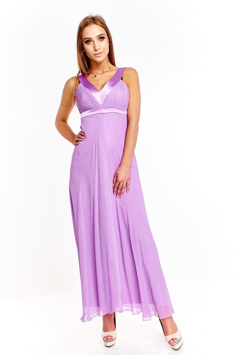 Sukienka FSU166 FIOLETOWY