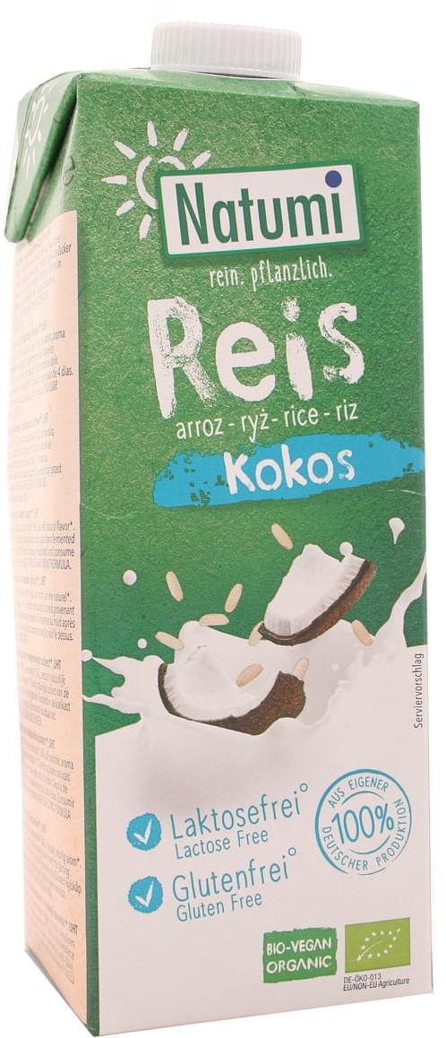 Napój ryżowo-kokosowy BIO - Natumi - 1000ml