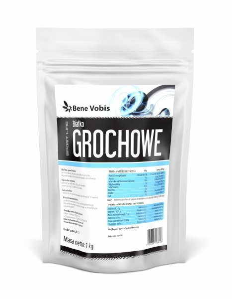 Bene Vobis - Białko Grochowe - 1kg