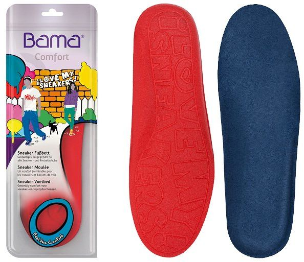 Wkładki do obuwia BAMA Comfort Sneaker - Love My SNEAKERS