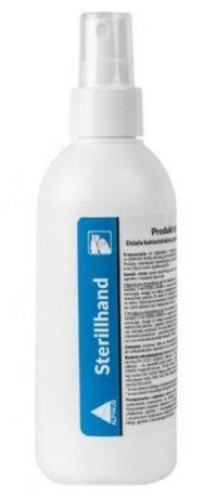 Sterillhand 250ml atomizer - produkt biobójczy - dezynfekcja rąk