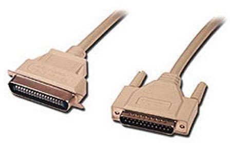 Connectland 0102001 kabel do drukarki, wtyk DB25 na 36-biegunową wtyczkę, 1,8 m