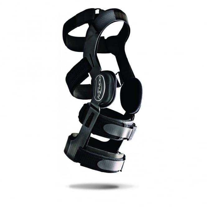 Super-lekka i wygodna DonJoy FullForce z zegarem ForcePoint - orteza kolana na więzadła - NARCIARSKA (FullForce SKI)