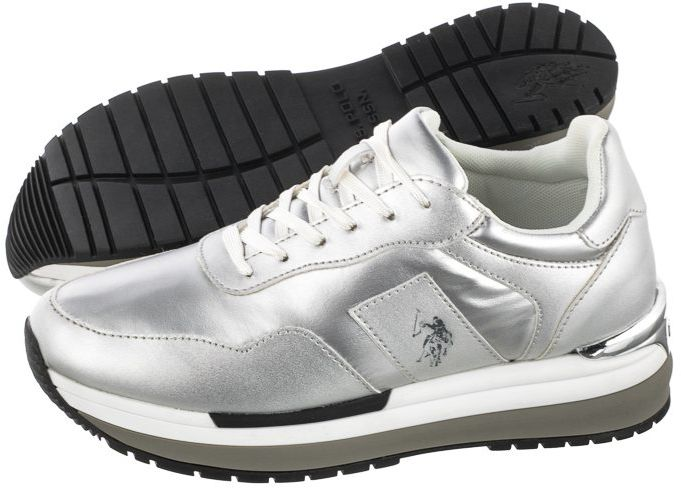 Sneakersy U.S. Polo Assn. Amy1 Met-Sil CHER4195S0/NY1 (US38-a)