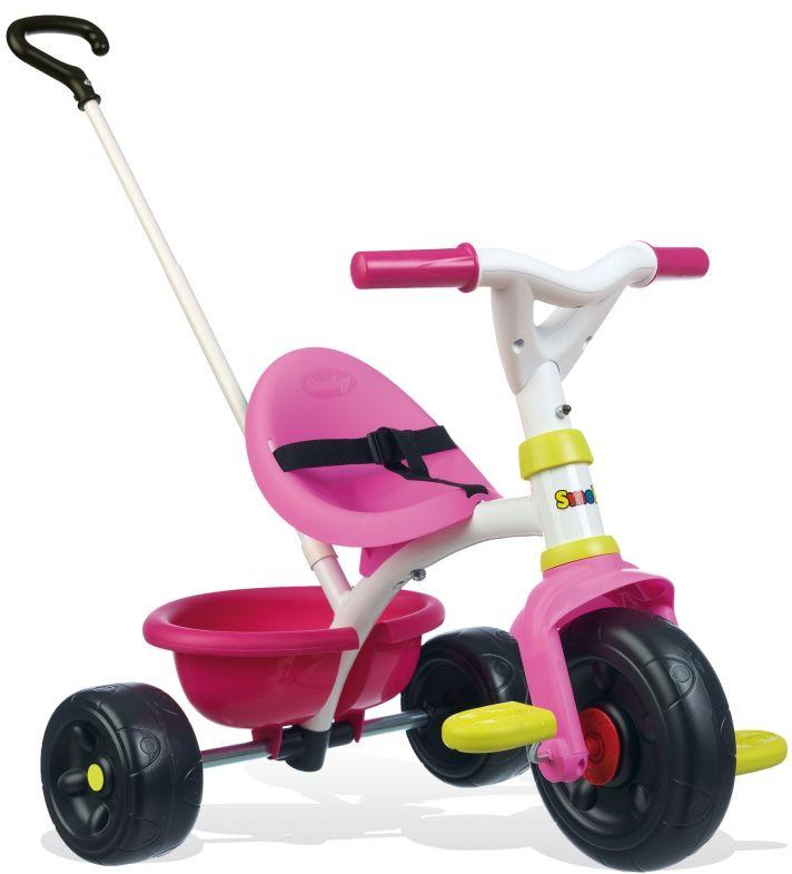 SMOBY Rowerek Trókołowy Be Fun Różowy LK