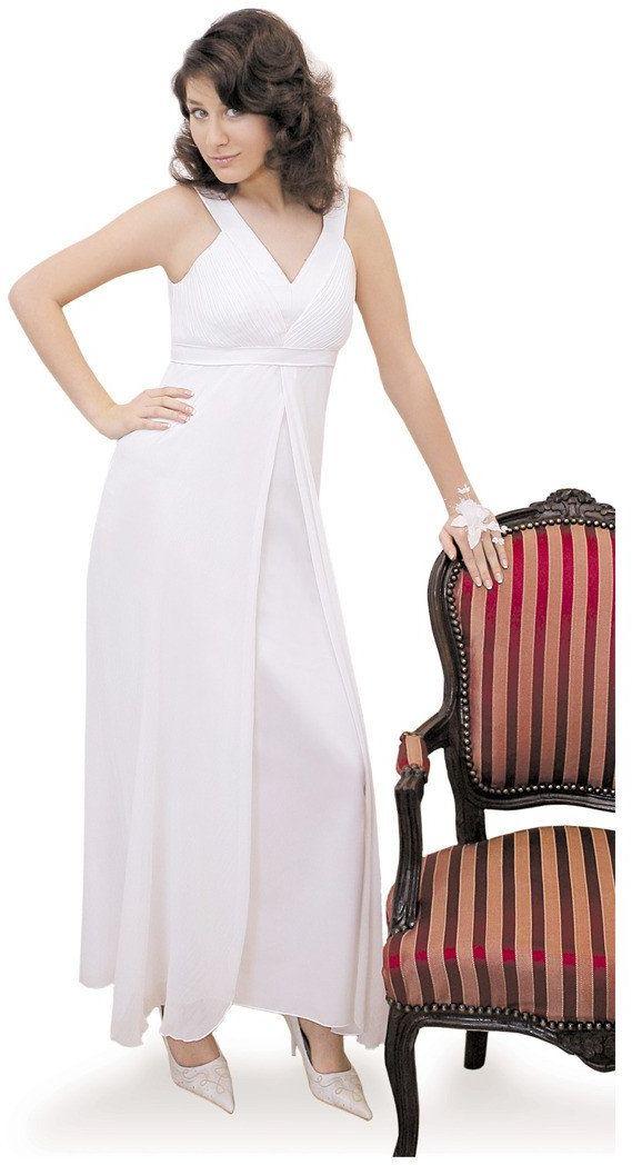 Sukienki Sukienka Suknie FSU166 BIAŁY