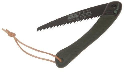 zestaw laplander: nóż i piła składana dla myśliwych, turystów, traperów, survival Bahco [LAP-KNIFE]