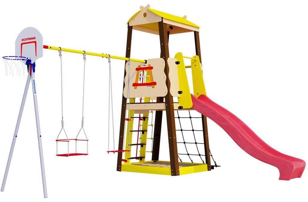 MAŁPISZON Plac zabaw dla dziecka do ogrodu Domek