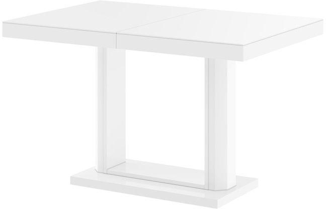 Stół QUADRO 120 biały wysoki połysk